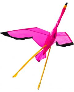 3D Flamingo