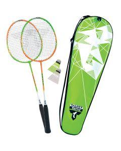 Badminton sæt med bolde