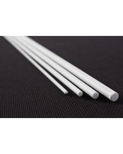 Glasfiber massiv 100cm Ø2-5mm hvid
