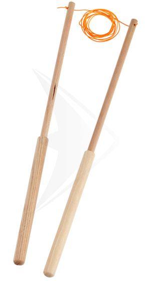 Træstave 42 cm